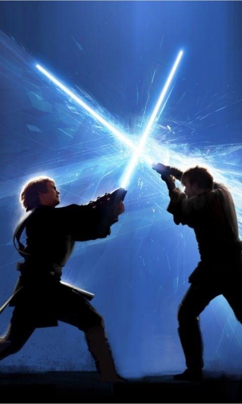 Anakin Vs Obi Wan Star Wars Wallpaper Star Wars Poster Star Wars Pictures