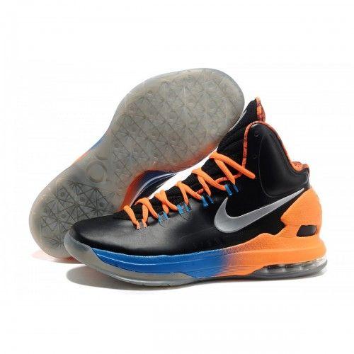 finest selection 6146e be601 For sale Cheap Nike Zoom KD V Black Silver Orange Blue