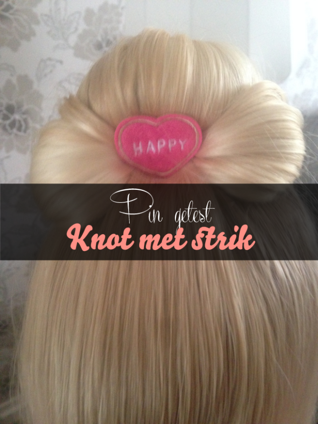 Pinners on the go go: Knot met strik getest