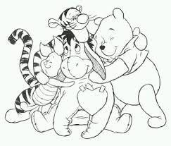 Resultado De Imagen De Winnie Pooh Y Sus Amigos Abrazados Paginas Para Colorir Da Disney Desenhos Infantis Para Colorir Cores Disney