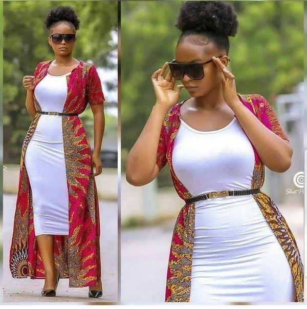 30 Best Kitenge Designs for Long Dresses 2019 Kitenge Styles #kitengedesigns 27 Best Kitenge Designs For Long Dresses #kitengedesigns