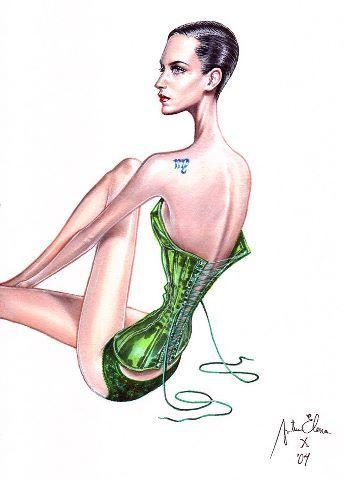 Arturo Elena Fashion illustration