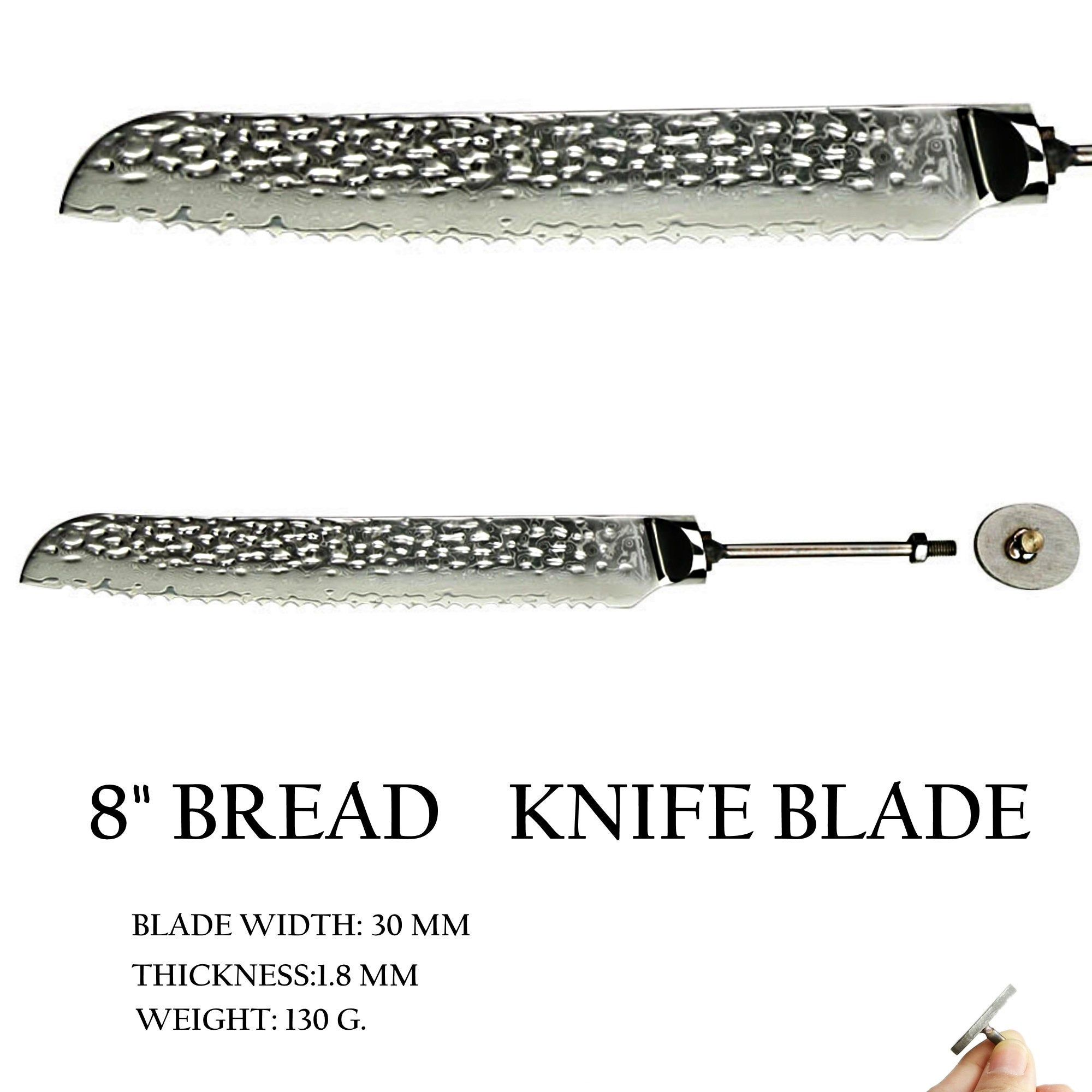 Blank Blade Diy Chef Knife Knife Making Kitchen Knife 8 Inch Etsy Chef Knife Damascus Steel Knife