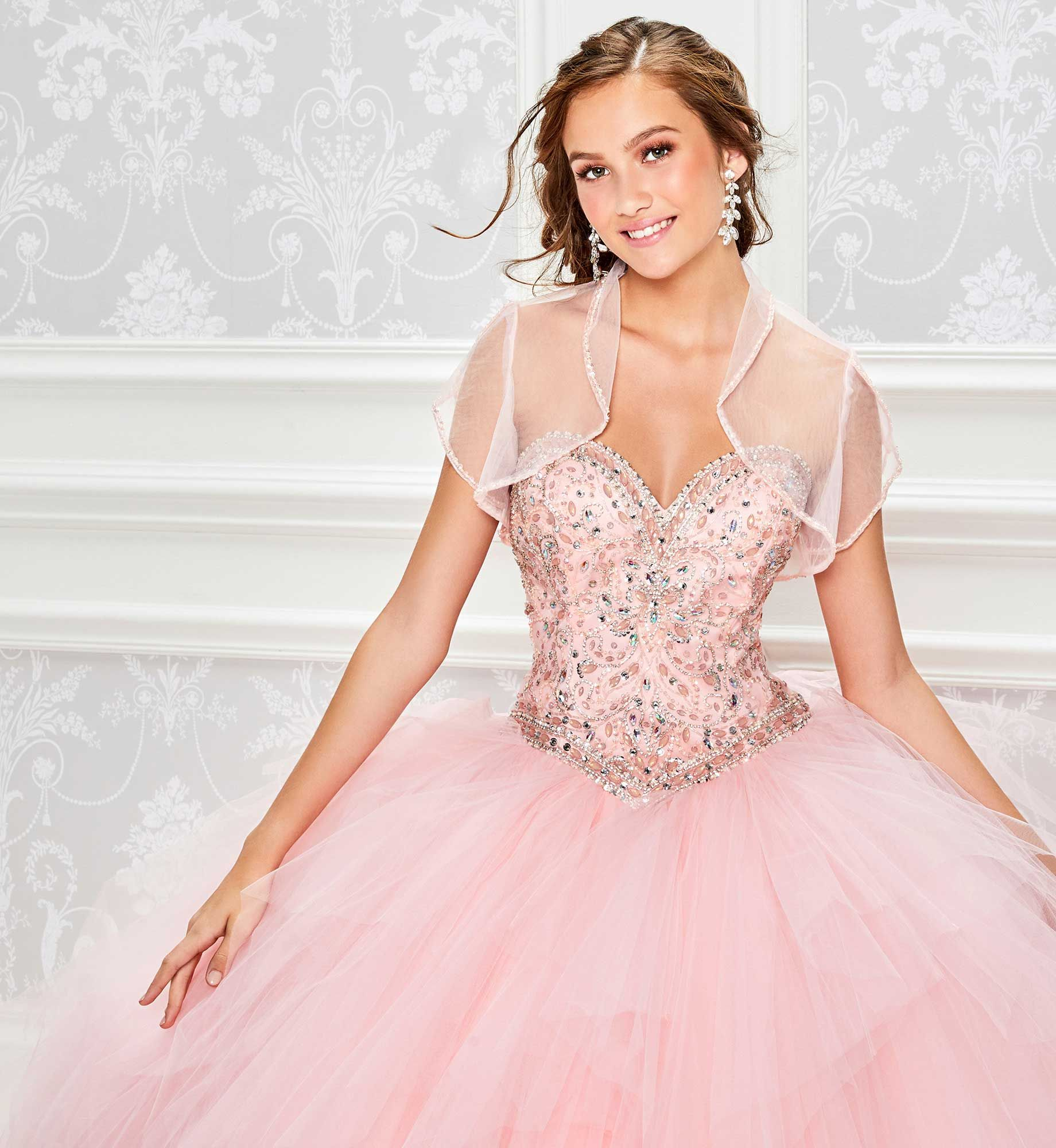cf68d44464 Princesa by Ariana Vara PR11808 - Strapless tulle and satin ball gown