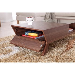 Coffee Console Sofa \u0026 End Tables For Less  sc 1 st  Pinterest & Furniture of America Kress Glass Insert Coffee Table | Overstock.com ...