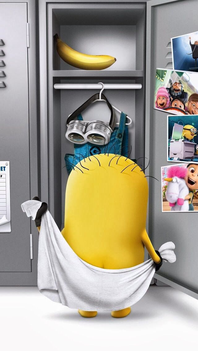 Minion After Bath! HD Wallpapers!