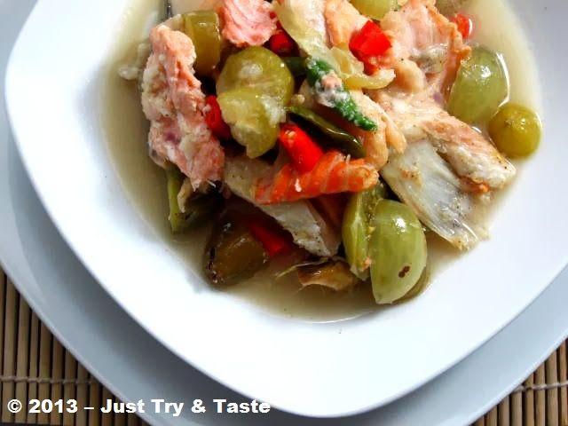 Garang Asem Ikan Salmon Resep Makanan Resep Makanan