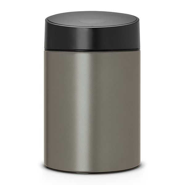 Kosh Za Smet 5 L Brabantia Slide Platinum With Images Brabantia Sensor Bins Kitchen Bin