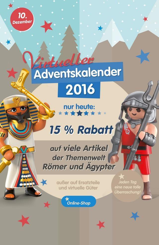 15 Rabatt Auf Playmobil Romer Und Agypter Artikel In Meinem Heutigen Video Zeige Ich Die Auswahl Der Artikel Und Die Adventkalender Playmobil Katalog Rabatt