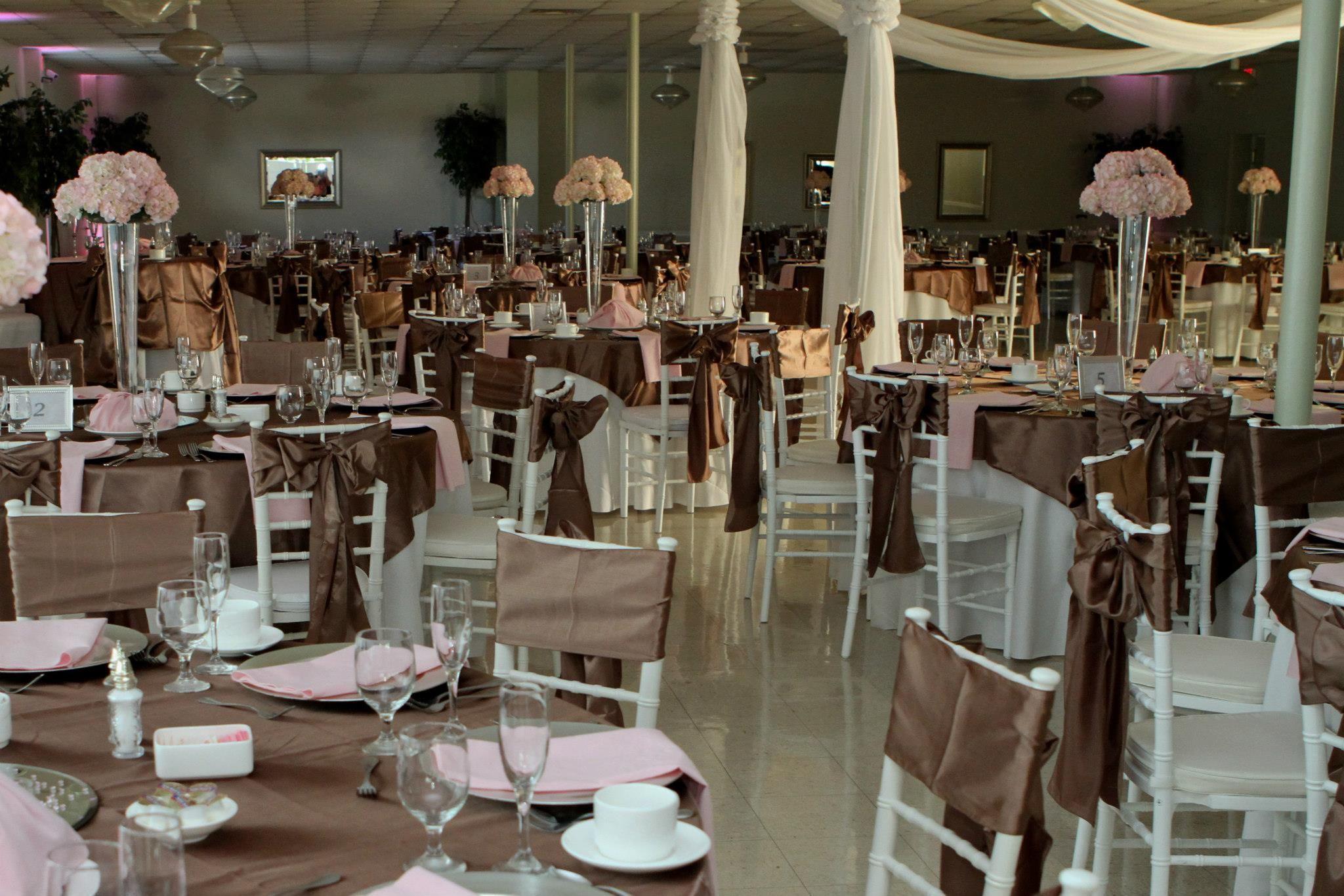 My Wedding Decor Wedding Colors Idea Latte W Baby Pink Combo