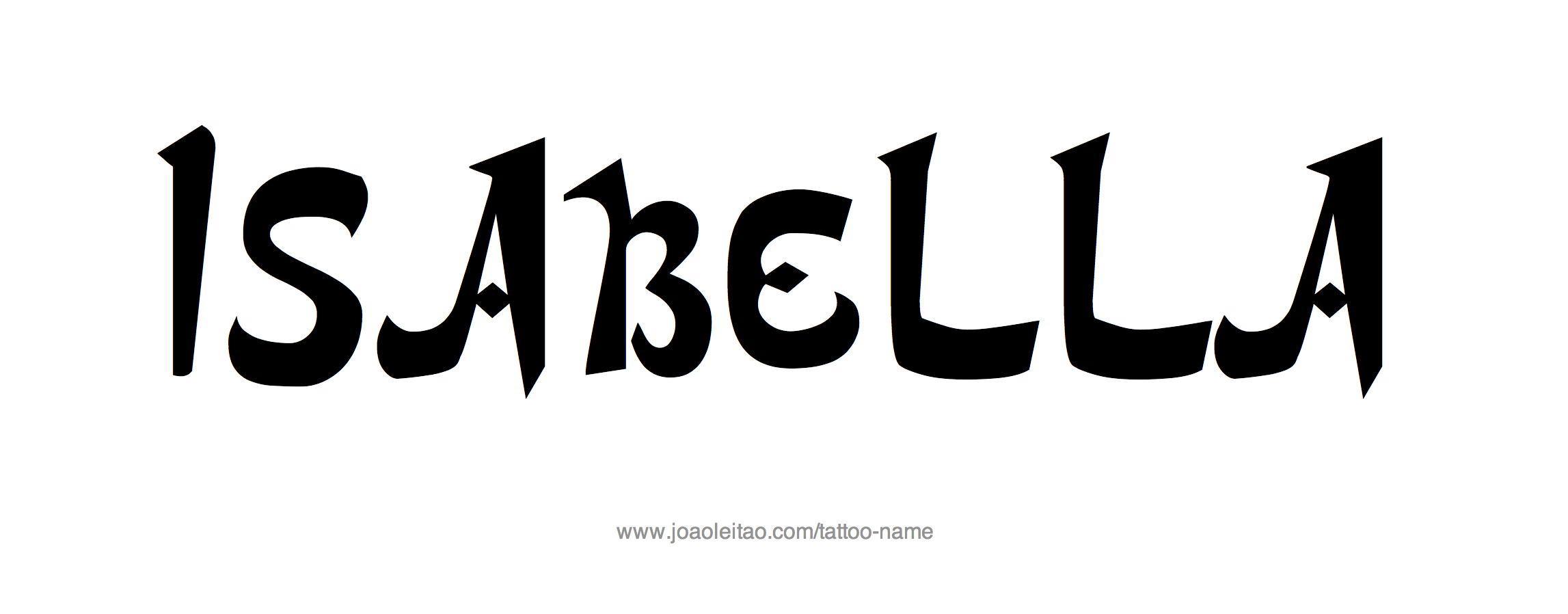Pin on Isabella Is My Name