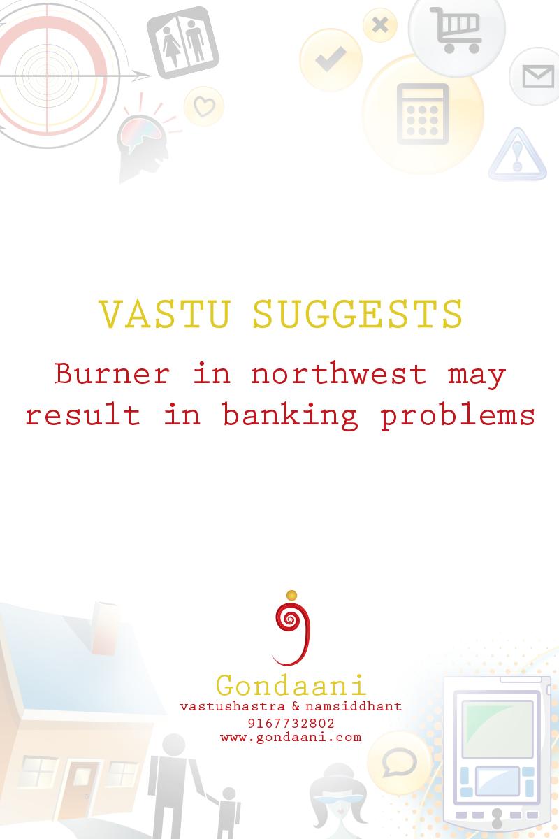 burner, #banking problem,#vastu,#home,#office | Vastu Shastra and ...