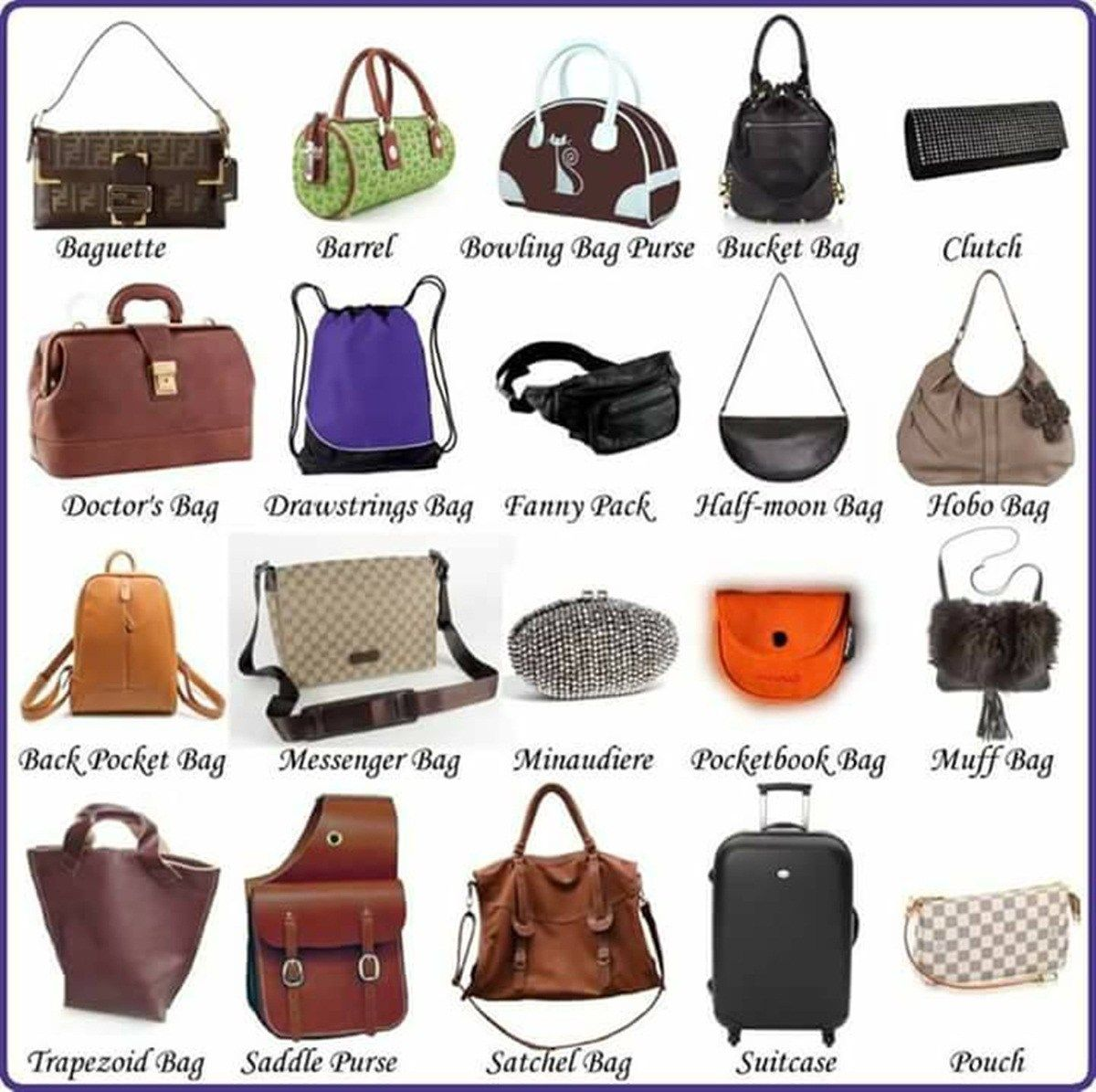 Clothes And Fashion Accessories Vocabulary In English