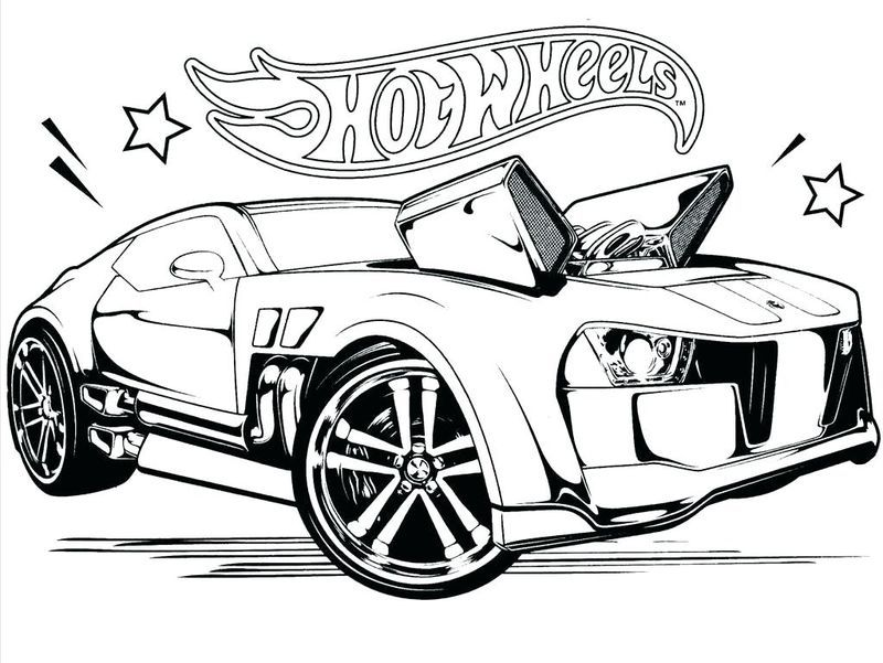 Hot Wheels Coloring Pages To Make Your Kids Day Colorful In 2020 Cars Coloring Pages Hot Wheels Races Hot Wheels Cars