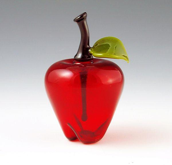 Image detail for -Apple Perfume: Garrett Keisling: Art Glass Perfume Bottle - Artful ...