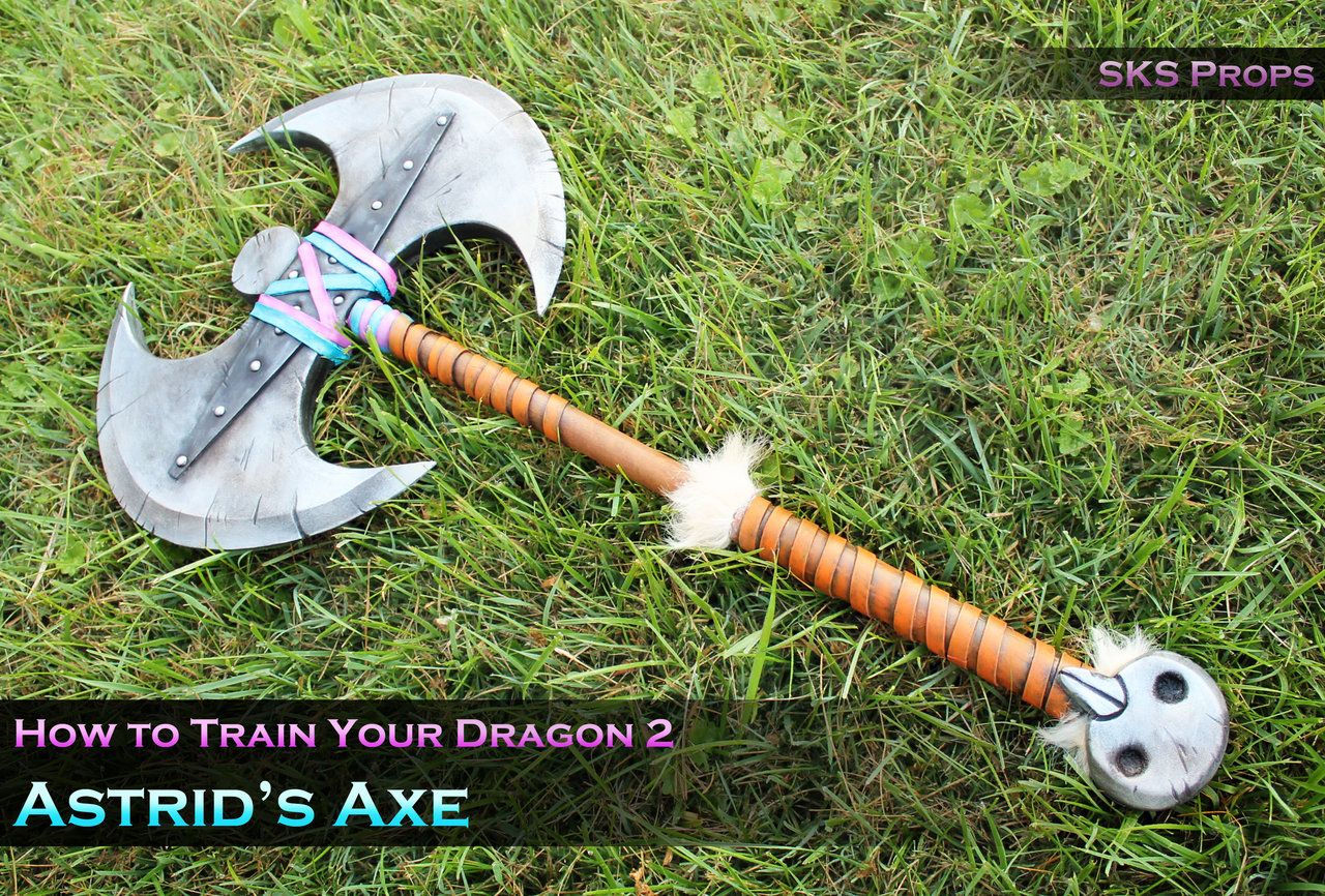 How To Train Your Dragon 2 Porn Delightful astrid's cosplay axe from how to train your dragonsksprops
