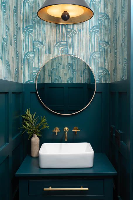 gathered - #clientbowfinlane  #interiordesign #interiorinspiration #bathroom