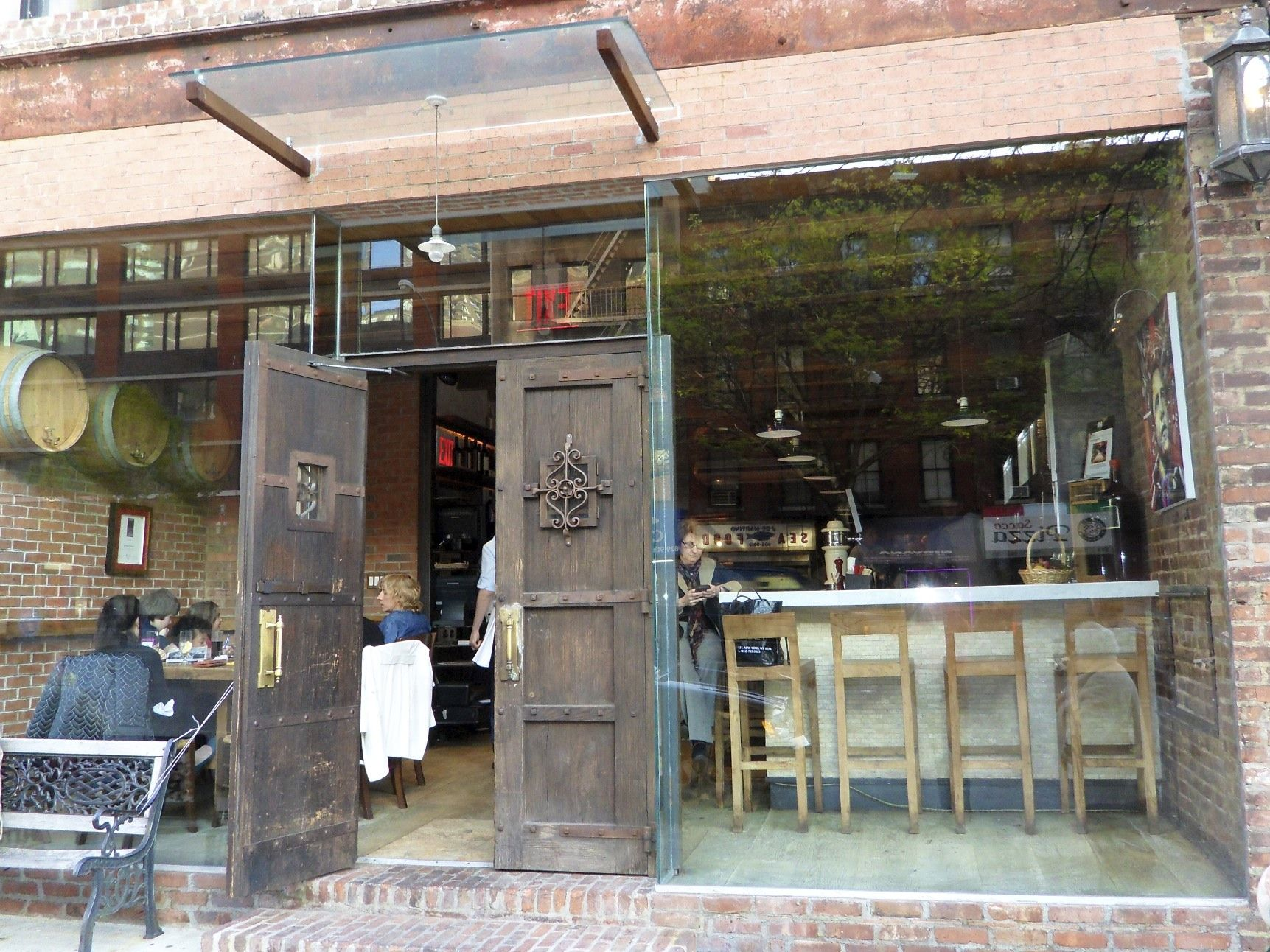 Bocca di Bacco located in the Hell\'s Kitchen section of Manhattan ...