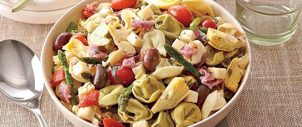 Looking for dinner made using Progresso™ artichoke hearts? Then serve this delicious Mediterranean pasta salad packed with veggies – that's ready in 20 minutes.