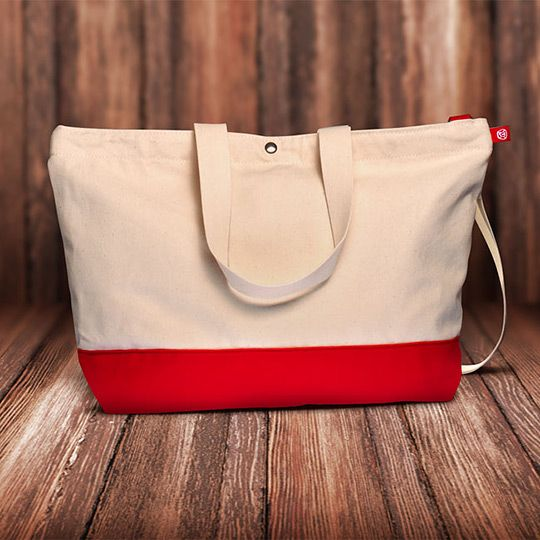Scottie Big Bags Messenger Tote Bag | Big bags, Bags and Totes
