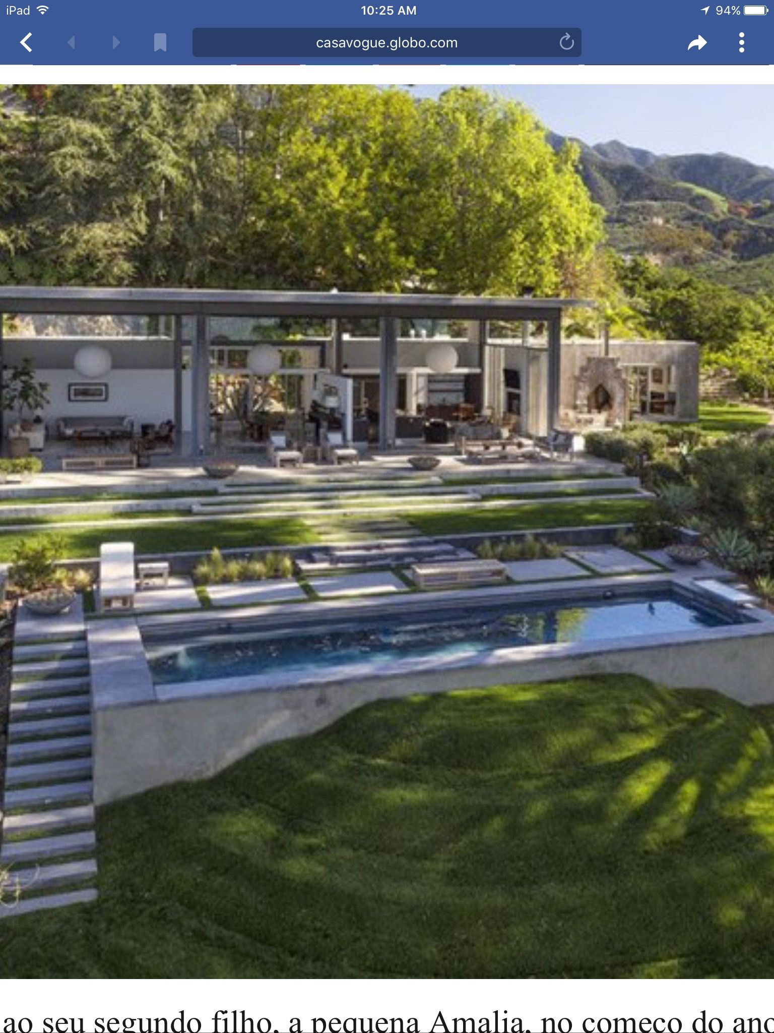 Pin By Jean Nedelec On Projetos A Experimentar Celebrity Houses House Design New Homes