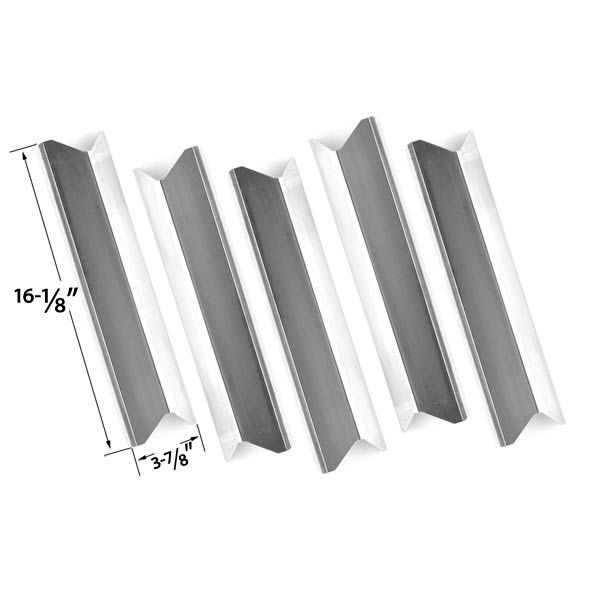 5 Pack Replacement Stainless Steel Heat Plate/shield for Backyard Grill  BY12-084- - 5 Pack Replacement Stainless Steel Heat Plate/shield For Backyard