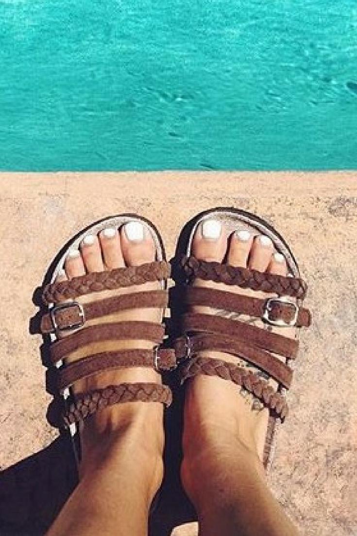 MUK LUKS Terri Women's Slide ... Sandals q5vkk0pW4