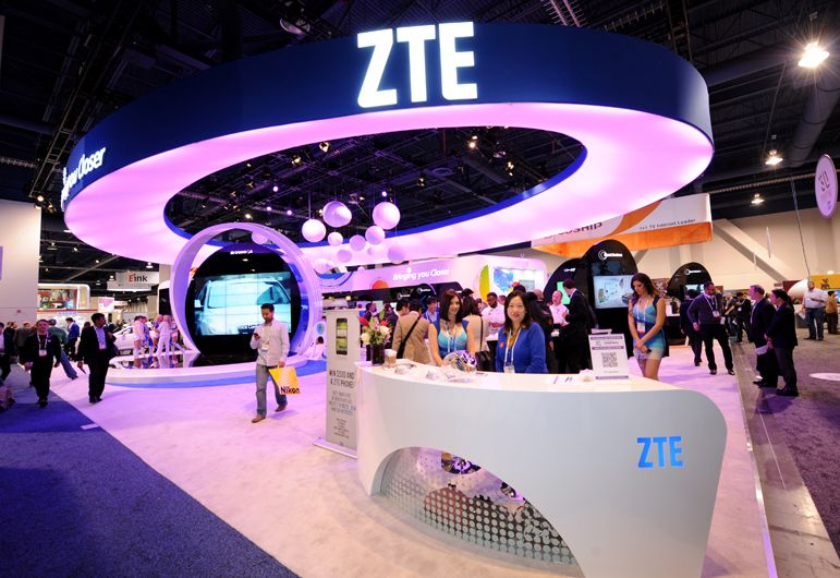 Exhibition Booth Design Las Vegas : Zte announces a renewed focus on consumers needs globally
