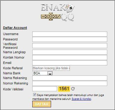 Cara daftar di situs bandarq online terpercaya di ...