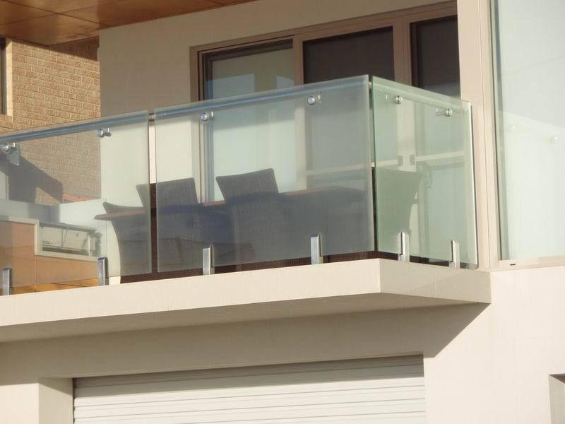 Frameless Glass Balcony Railing 304S S 316 Stainless Steel Glass   Glass Handrails For Balcony   Glass Guardrail   Exterior   Stainless Steel   Staircase   Veranda