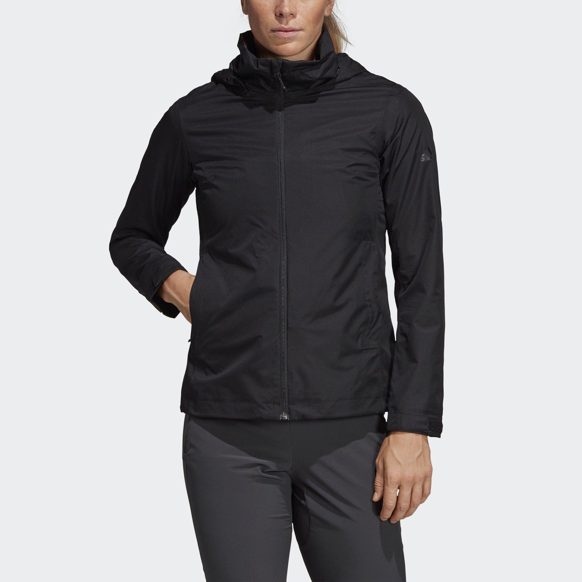 Двухслойная куртка Wandertag adidas Performance   Женская одежда ... 699750e4fe3