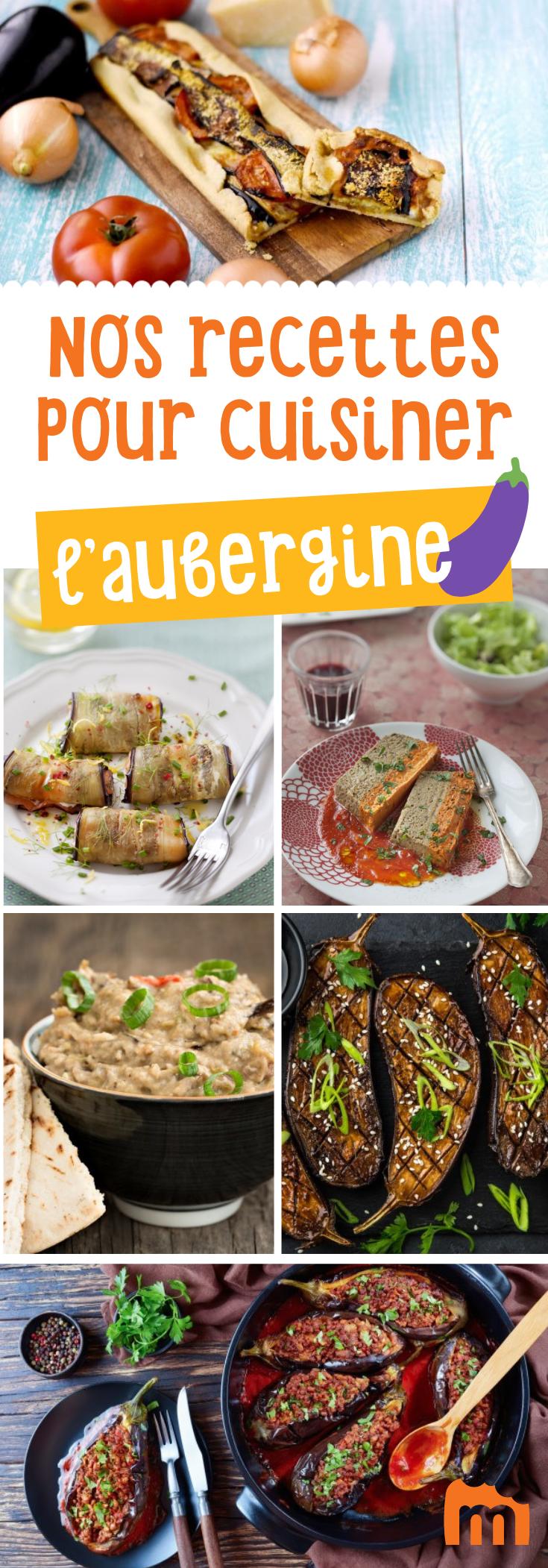 Nos 20 Recettes Gourmandes Pour Cuisiner L Aubergine Cuisiner Les Aubergines Recettes De Cuisine Recette Gourmande
