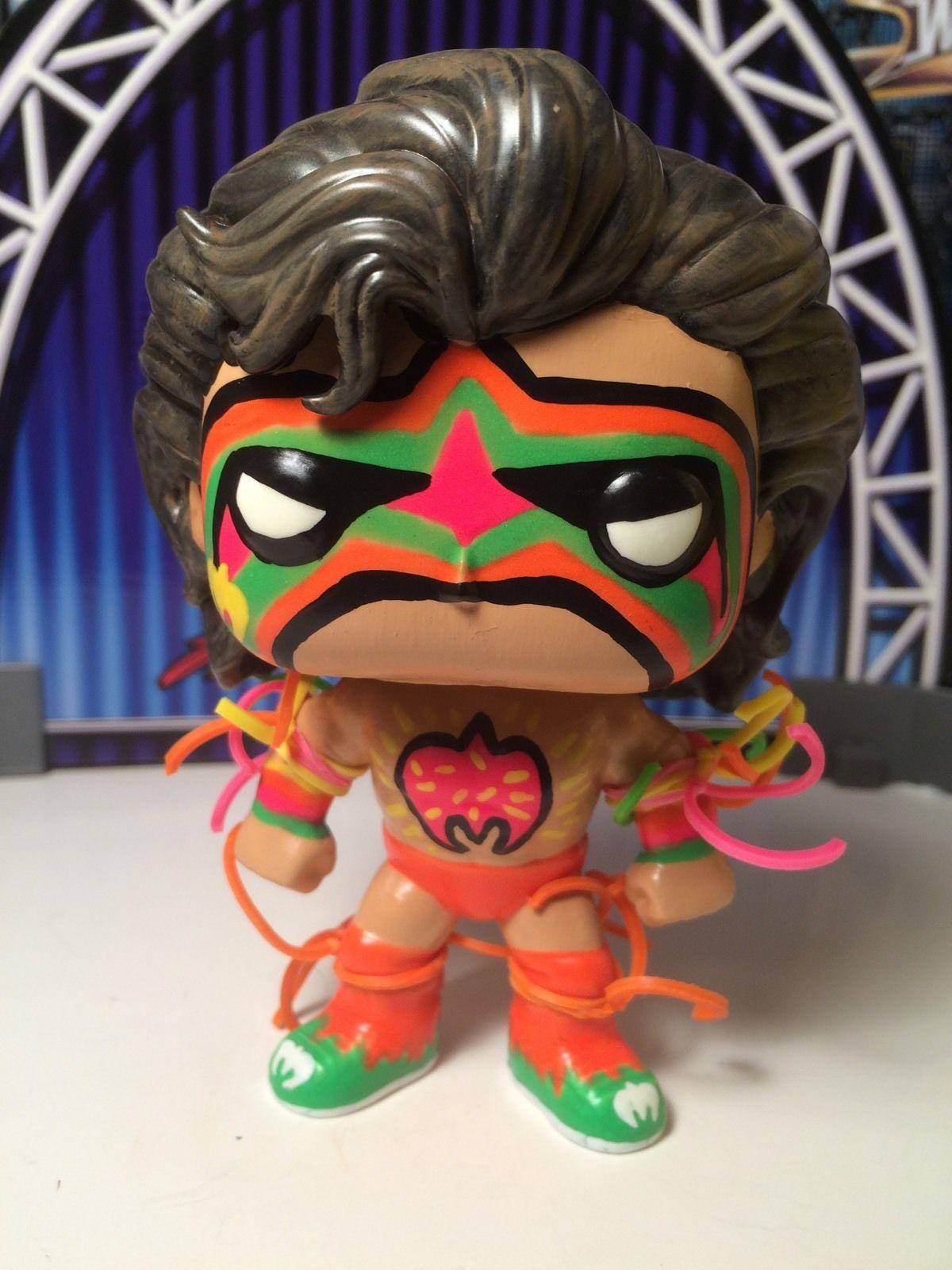Details About Wwe Wrestling Funko Pop Ultimate Warrior