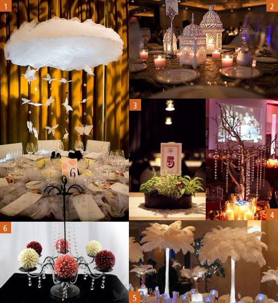 Unique Wedding Centerpieces: Unique Centerpiece Ideas