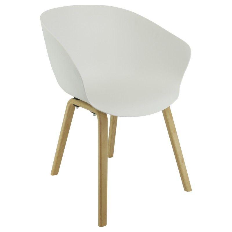 Chaise copenhague chaise design avec accoudoirs