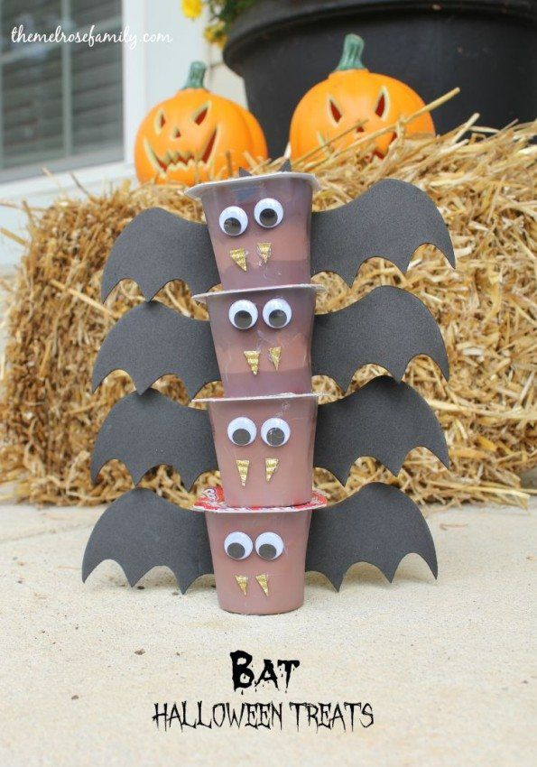 Bat Halloween Treats #halloweentreatsforschool