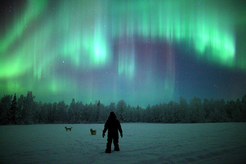 mejor lugar para ver la aurora boreal