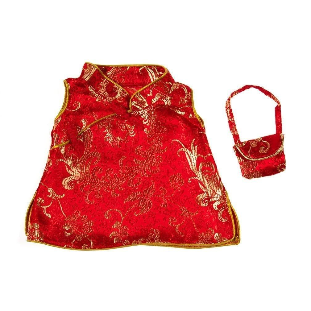 16 chinese cheongsam outfit teddy bear clothes vermont