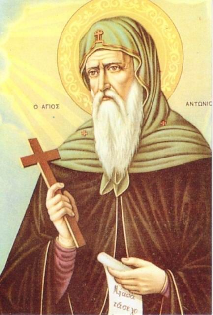 The Life Of Saint Anthony The Authorship Of Which Same Is Ascribed To Saint Athanasius Hath The Following Items Anthony The Great Saint Anthony Saint Antony