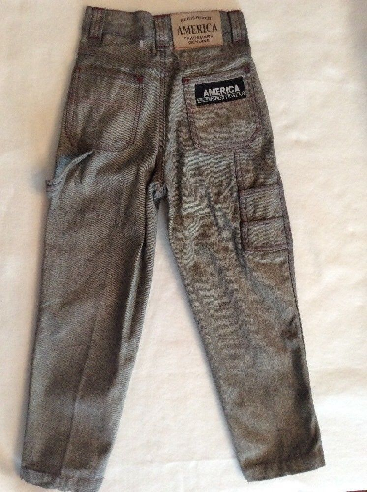 America Sportswear Boys 5 Gray Sturdy Carpenter Pants Jeans Ramie Cotton Fashion Clothing Shoes Accessories Kidsclothingshoesa Clothes Fashion Jeans Pants