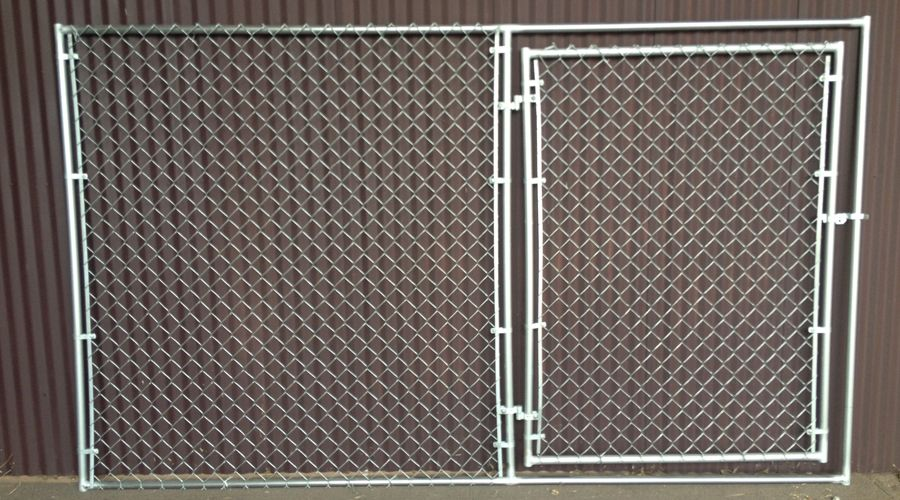 Portable Chain Link Fence Panel With Gate Chain Link Fence Panels Fence Panels Chain Link Fence