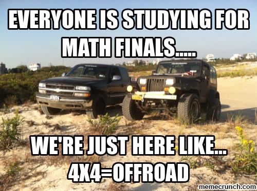 Redneck math FTW | Off-Roading Memes | Pinterest | 4x4 ...  Redneck math FT...