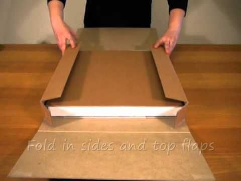 Canvaspak Stretched Canvas Shipping Box Stretch Canvas Shipping Boxes Canvas