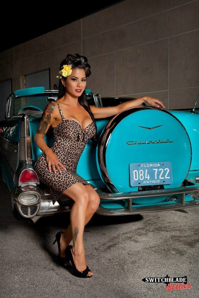 57 Best Rowan Blanchard Images On Pinterest: '57 Chevy Rag-top! I Has One Just Like This ... No, Not