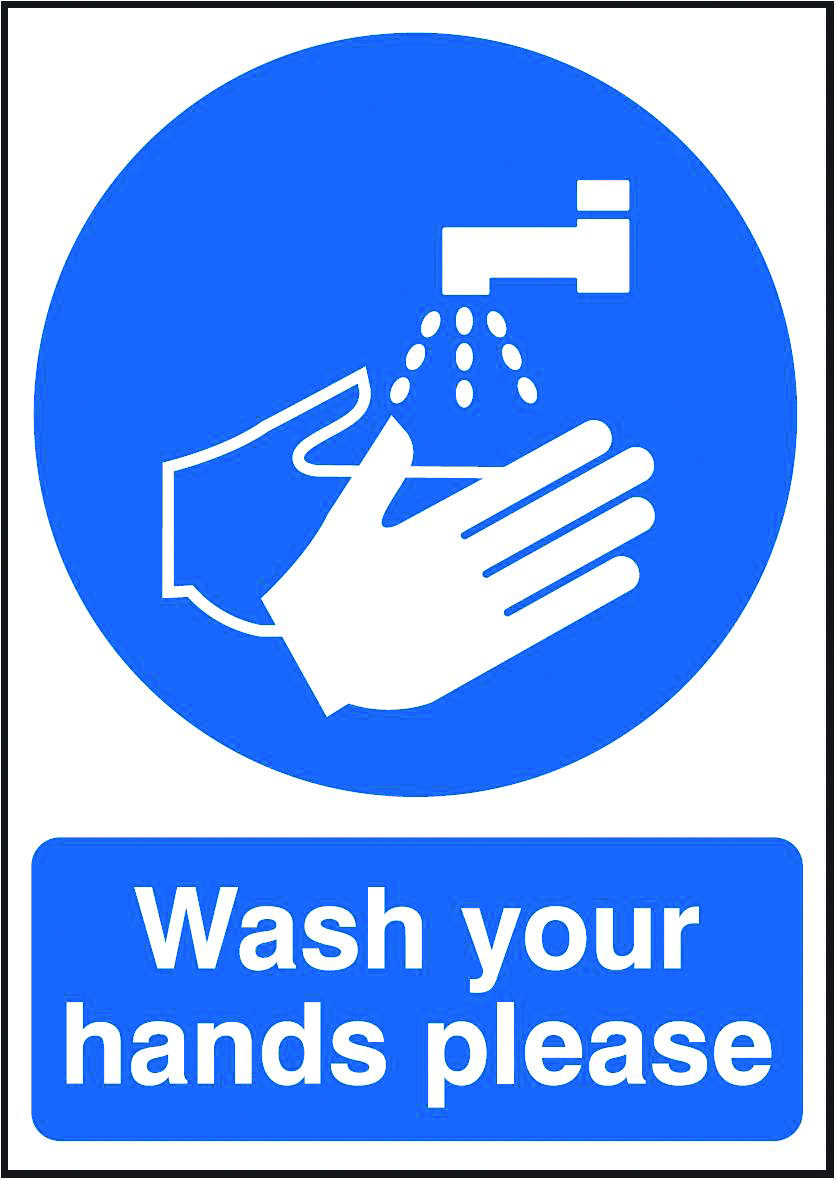 Wash Your Hands Please Beaverswood Identification Solutions