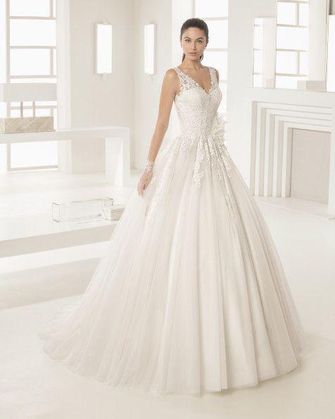 OCTUBRE vestido de novia Rosa Clará Two 2017