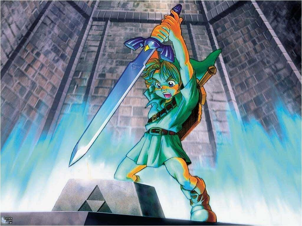 the legend of zelda: ocarina of time d hd desktop wallpaper 1024×768