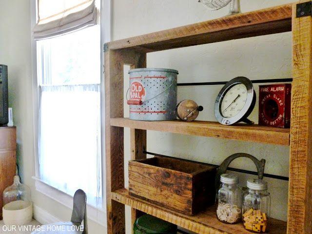 vintage home love: den redo   Home, Vintage house, Diy