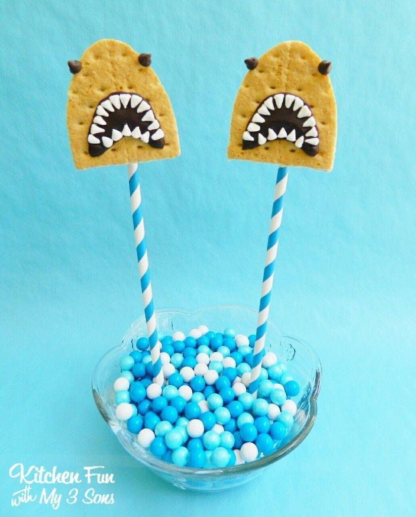 The Shark Week-Themed Snacks You & Your Kids Need to Sink Your Teeth Into #sharkweekfood SHEKNOWS | Shark Food | Shark Snacks | Food Shaped Like Shark | Shark Week Food | Shark Party Ideas | Shark Week Party | Shark Food Recipes | Shark S'Mores Pops #sharkweekfood The Shark Week-Themed Snacks You & Your Kids Need to Sink Your Teeth Into #sharkweekfood SHEKNOWS | Shark Food | Shark Snacks | Food Shaped Like Shark | Shark Week Food | Shark Party Ideas | Shark Week Party | Shark Food Recipes | Shar #sharkweekfood