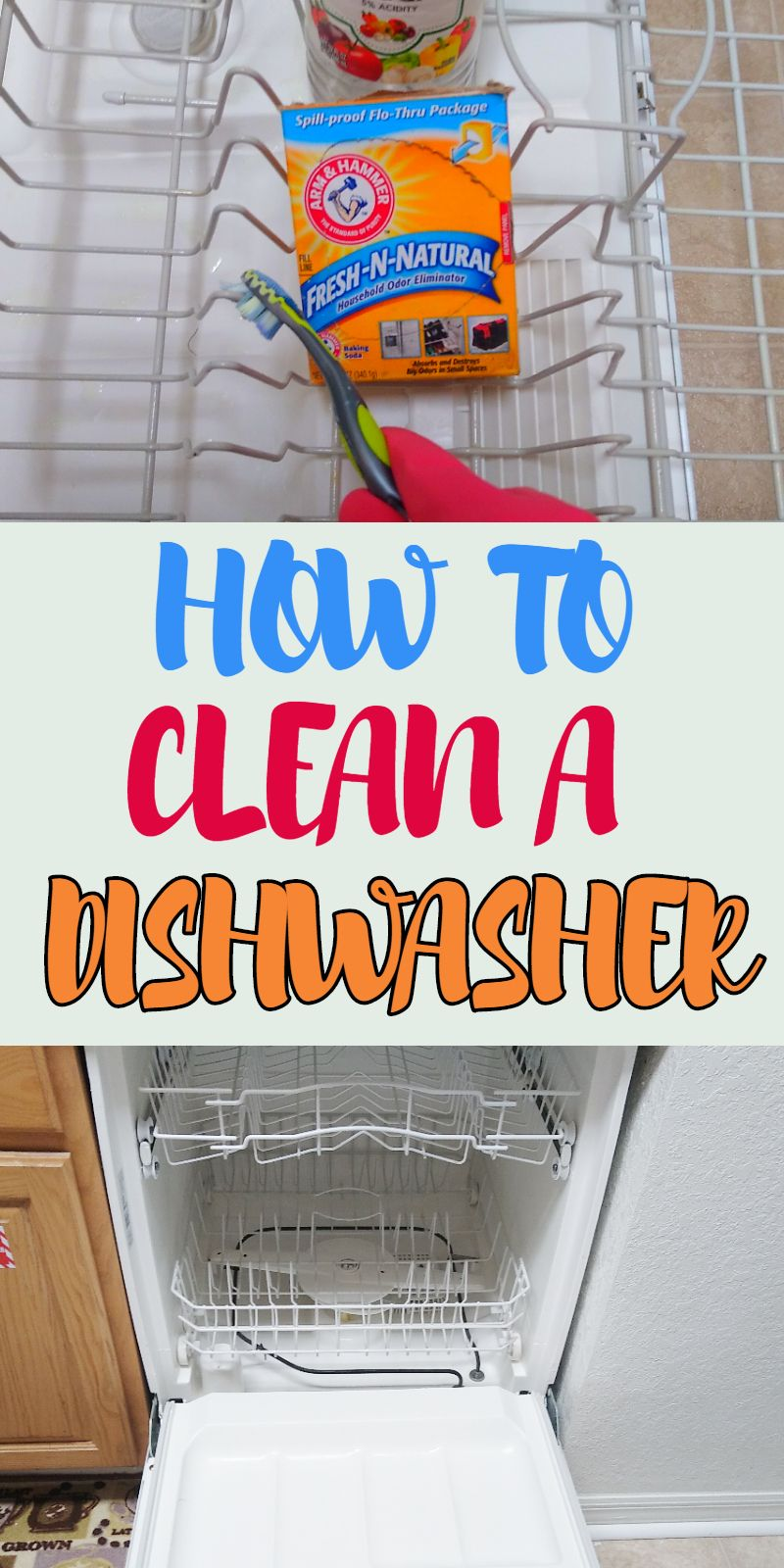 How To Clean Your Dishwasher The Proper Way In 2020 Diy